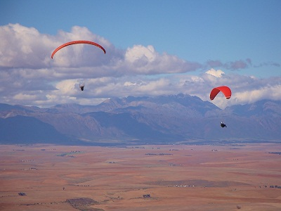 Paragliding Porterville - Flying from Piketberg.