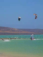 Langebaan South Africa - Windsufing & Kitesurfing.